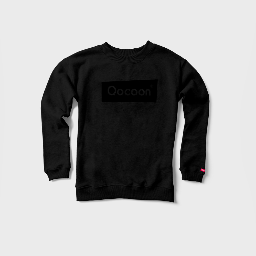WOMEN-QOCOON-Sweater-PURE-Black-Front