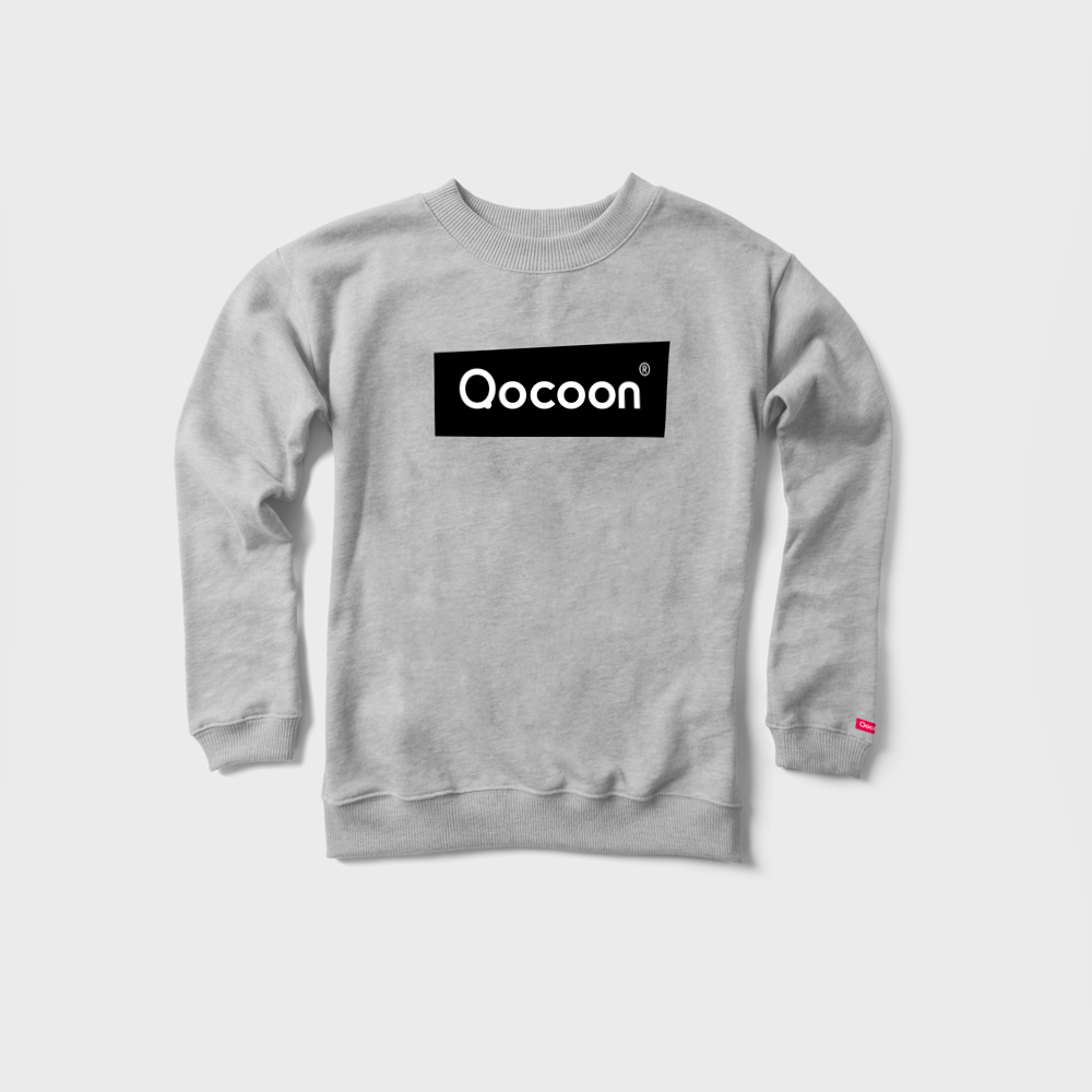 WOMEN-QOCOON-Sweater-STRAIGHT-Gray-Front
